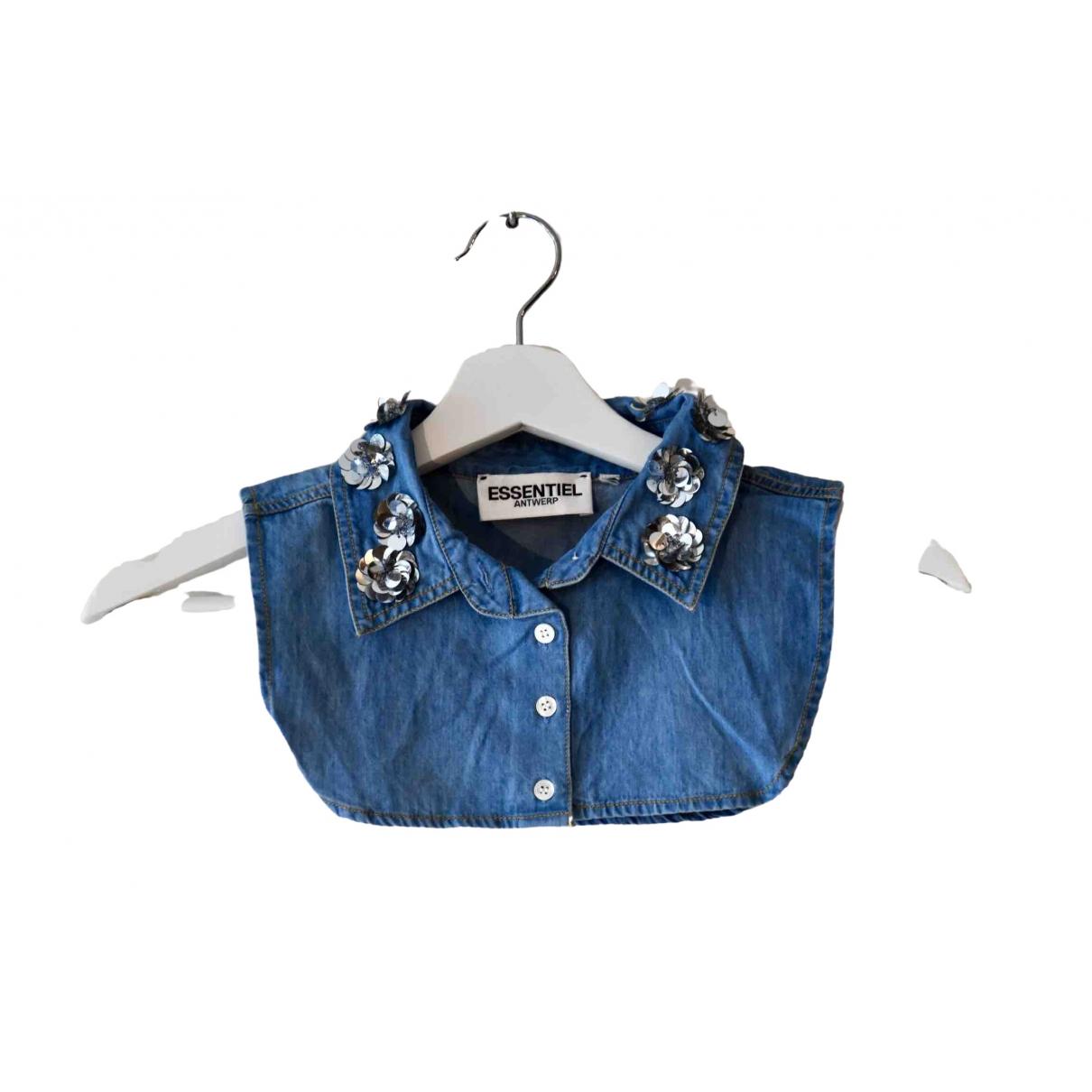 Essentiel Antwerp \N Blue Denim - Jeans  top for Women One Size International