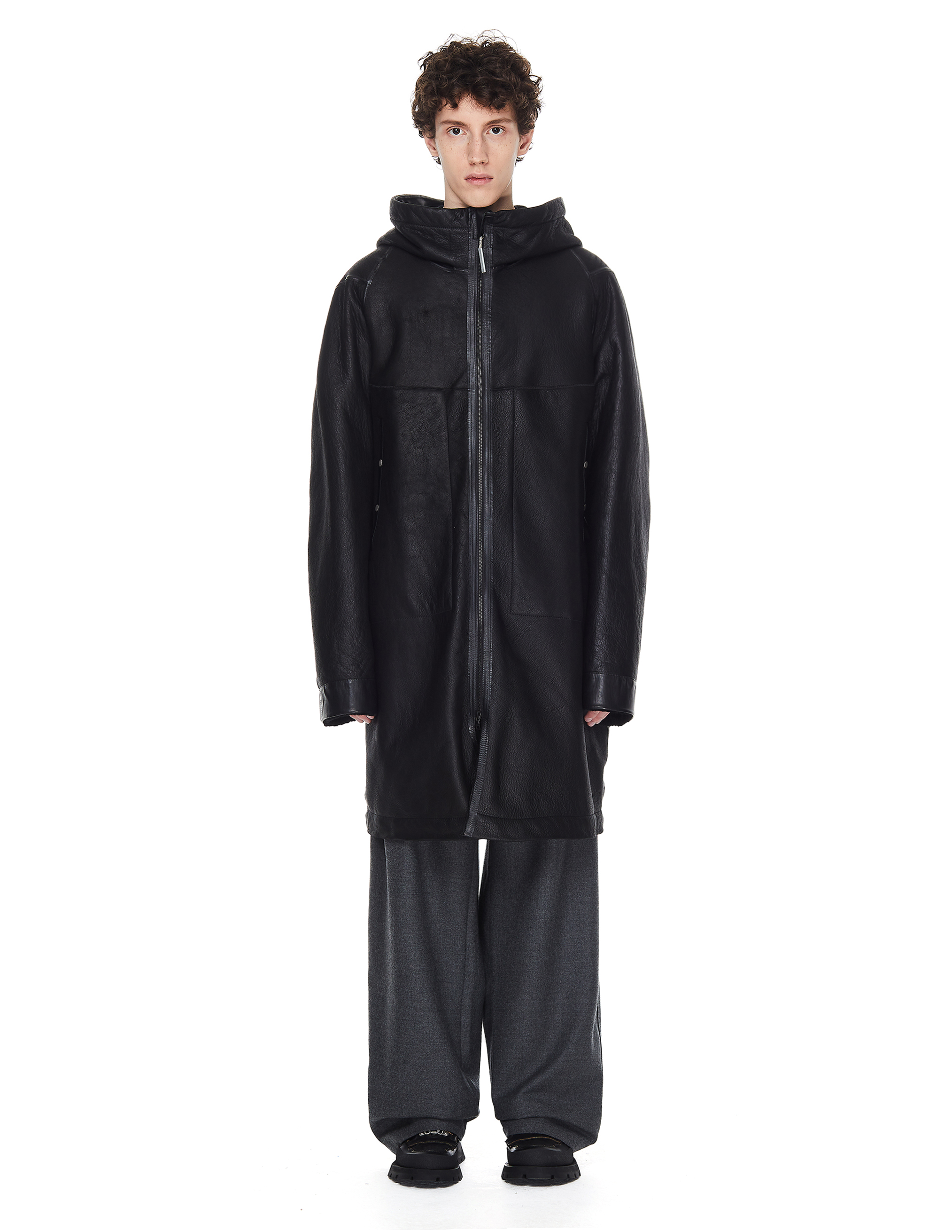 Isaac Sellam Elongated Hooded Jacket