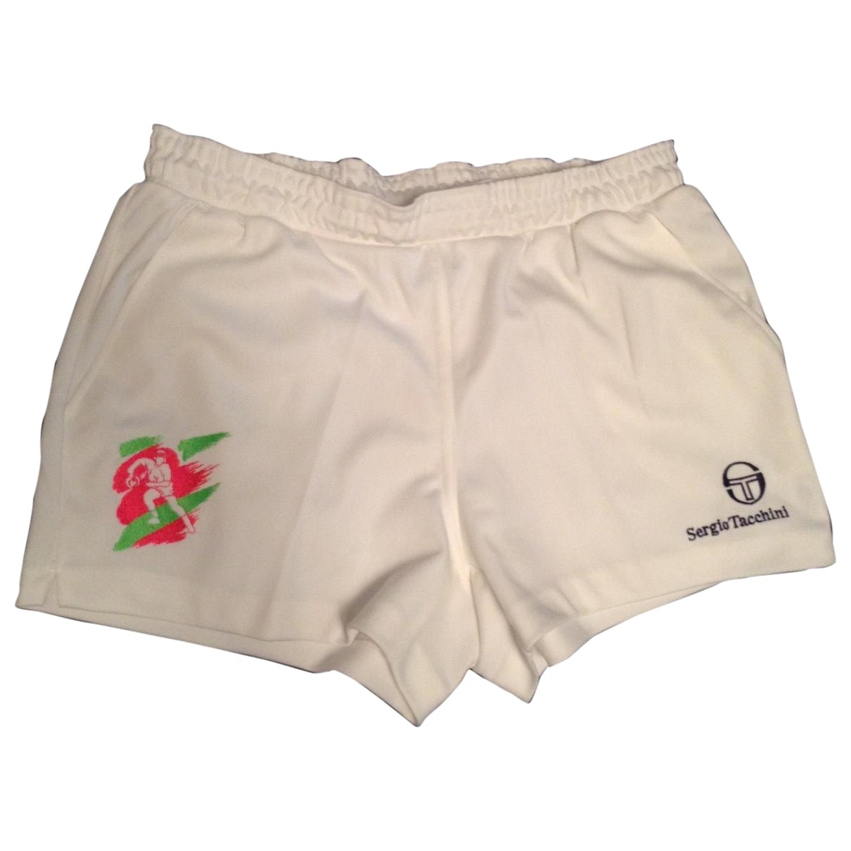 Sergio Tacchini \N Shorts in  Weiss Synthetik