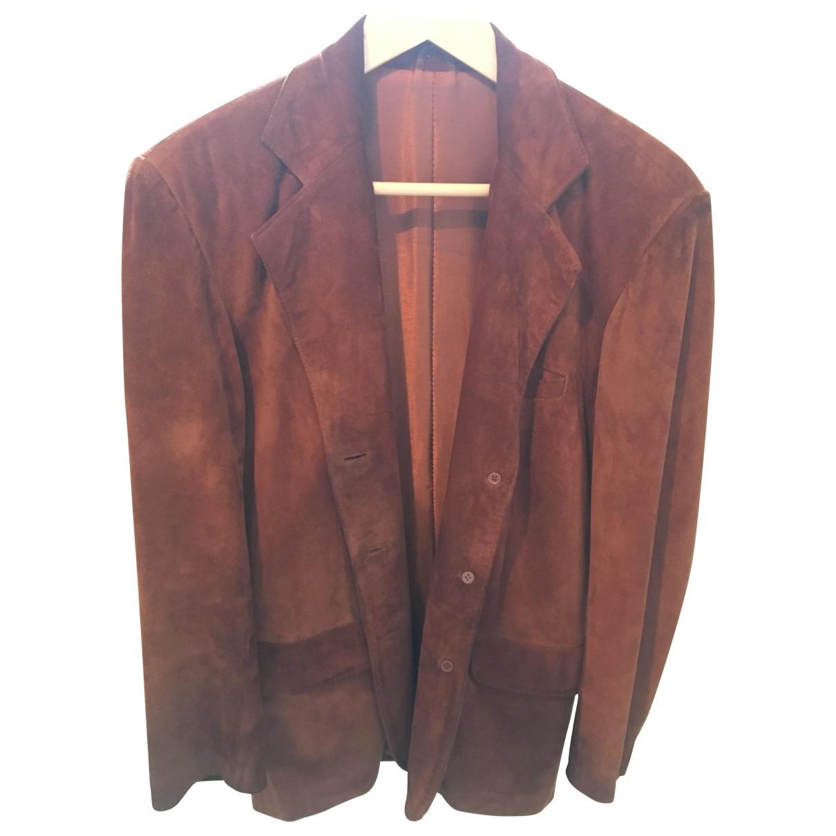 Mac Douglas \N Brown Leather jacket for Women L International