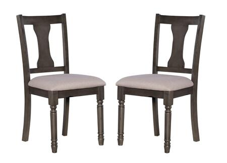 D1251D19GSC Willow Collection Side Chair set of 2 in
