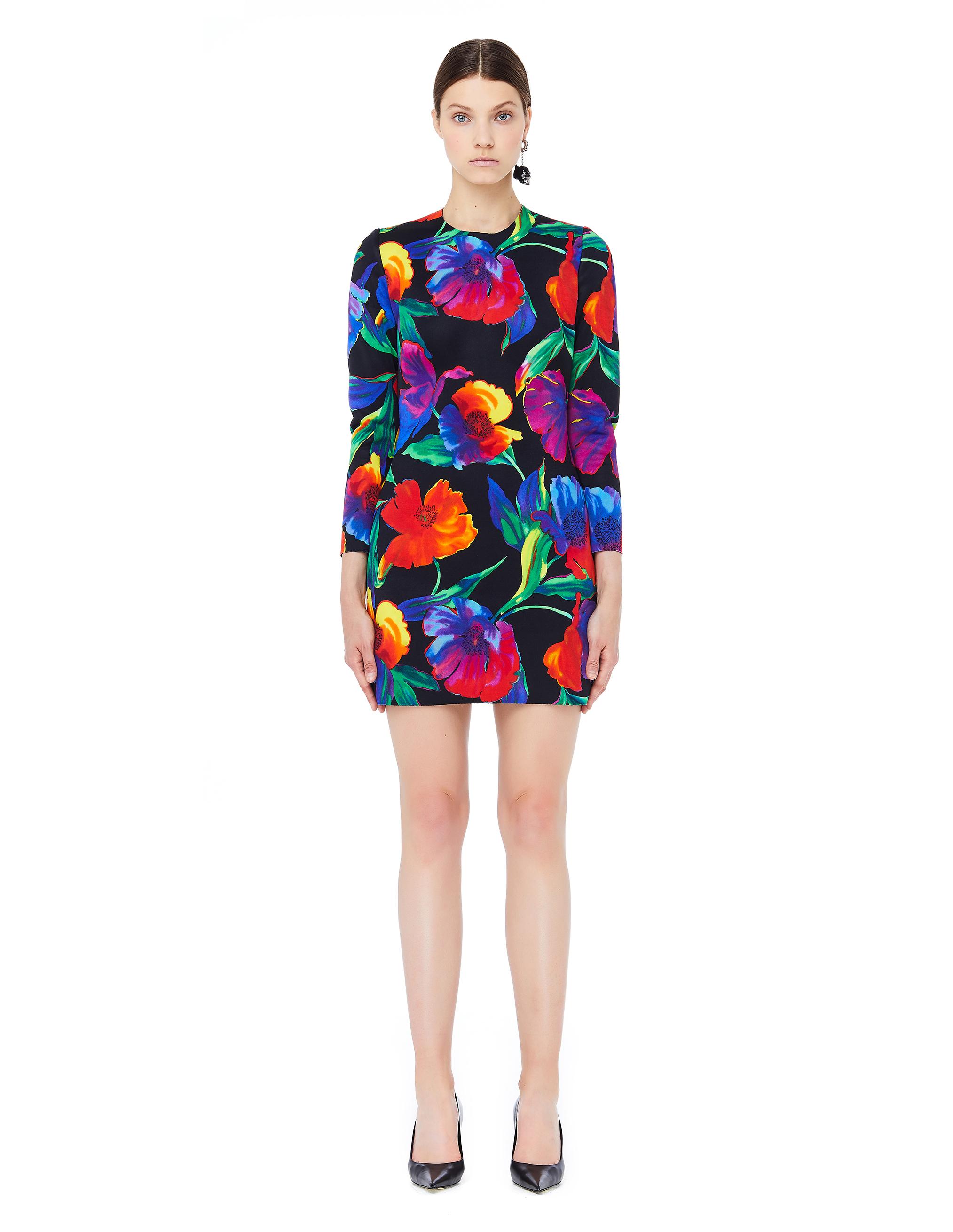 Balenciaga Flower Printed 3D Dress