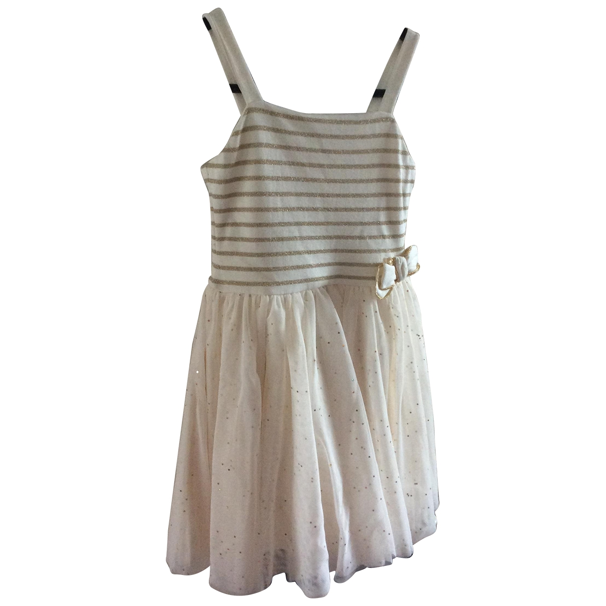 Petit Bateau \N Ecru Cotton dress for Kids 6 years - up to 114cm FR