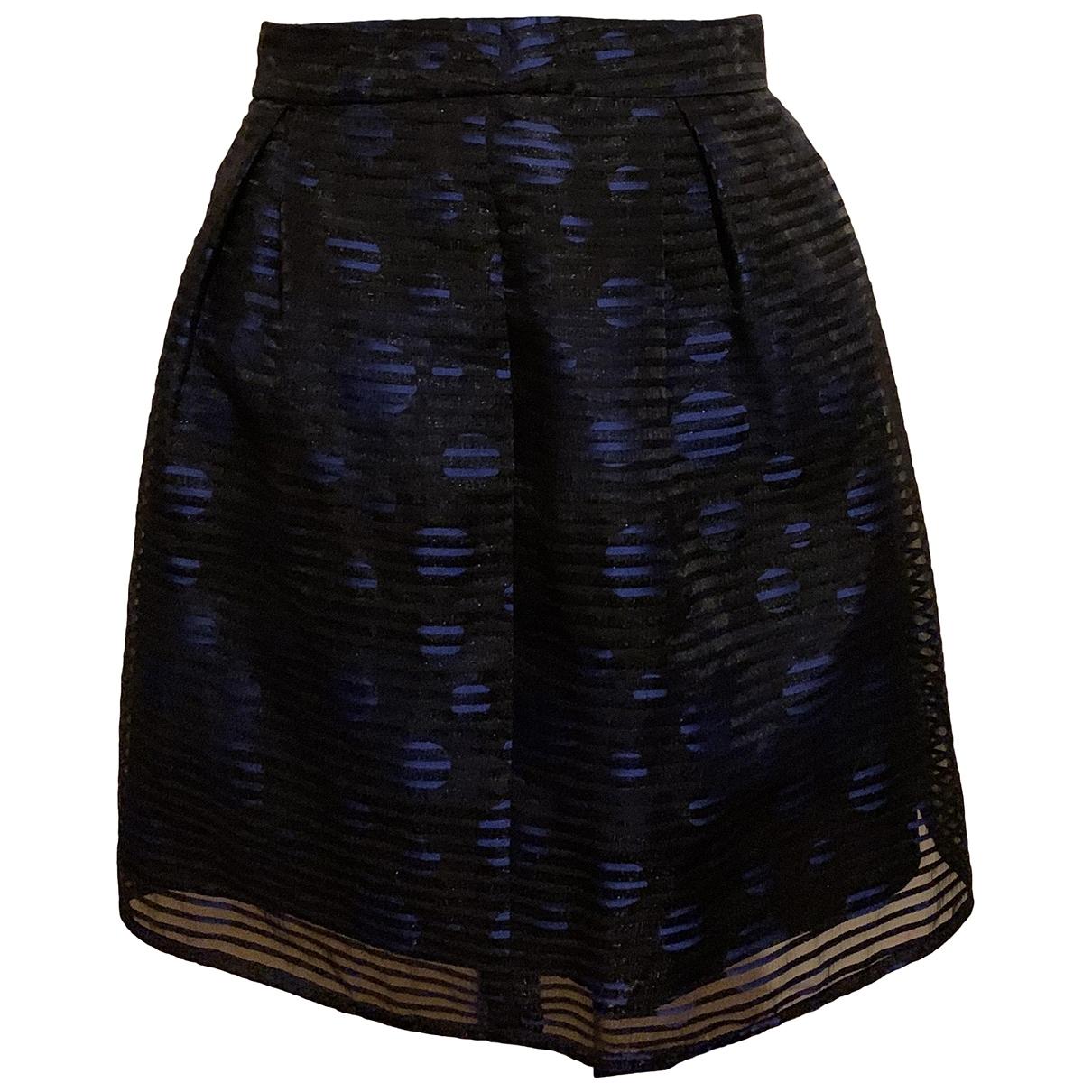 Max & Co \N Blue Cotton skirt for Women 36 FR