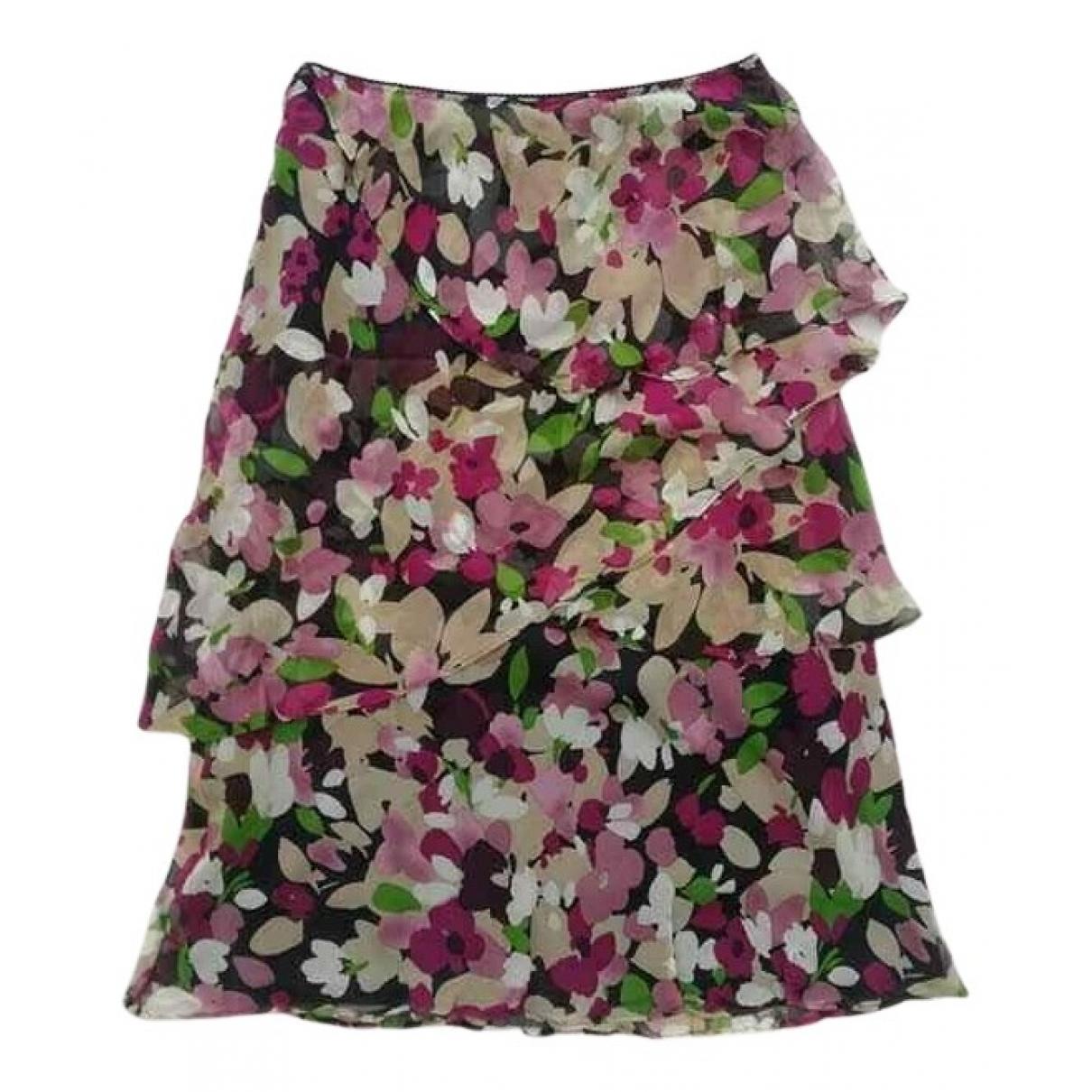 Hobbs - Jupe   pour femme en soie - multicolore