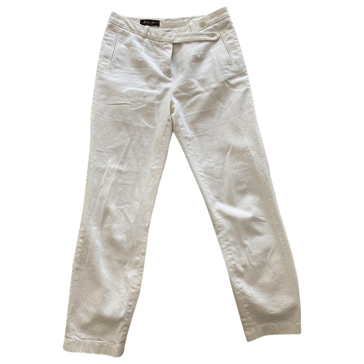 Pantalon recto Loro Piana