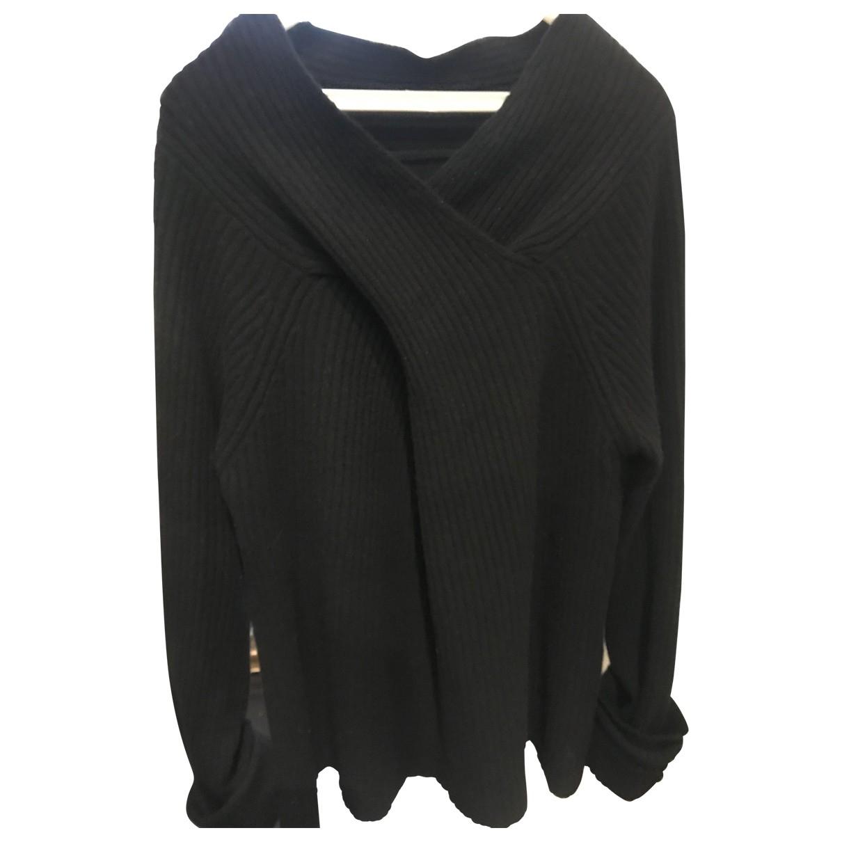Liviana Conti - Pull   pour femme en laine - noir