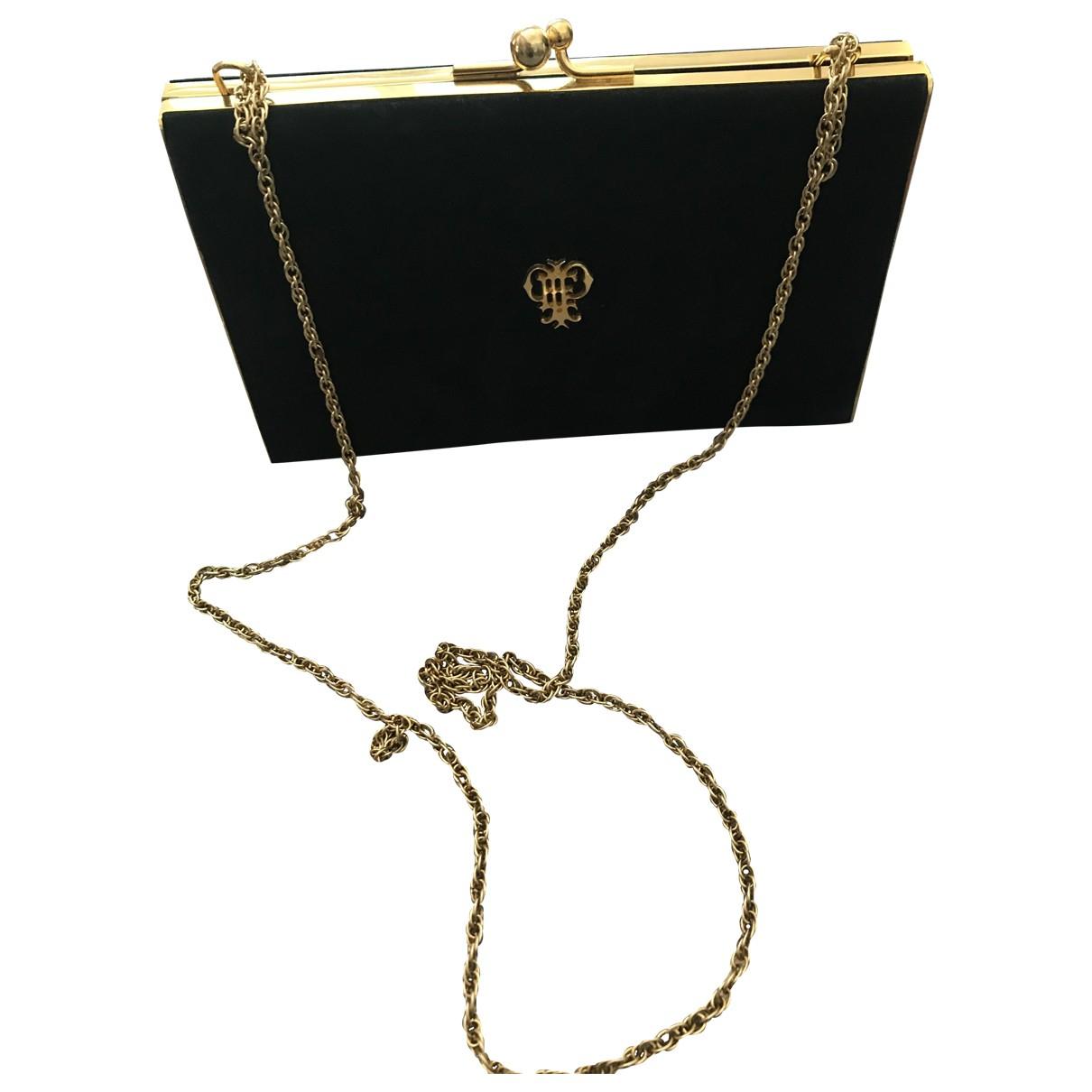 Emilio Pucci \N Black Suede Clutch bag for Women \N