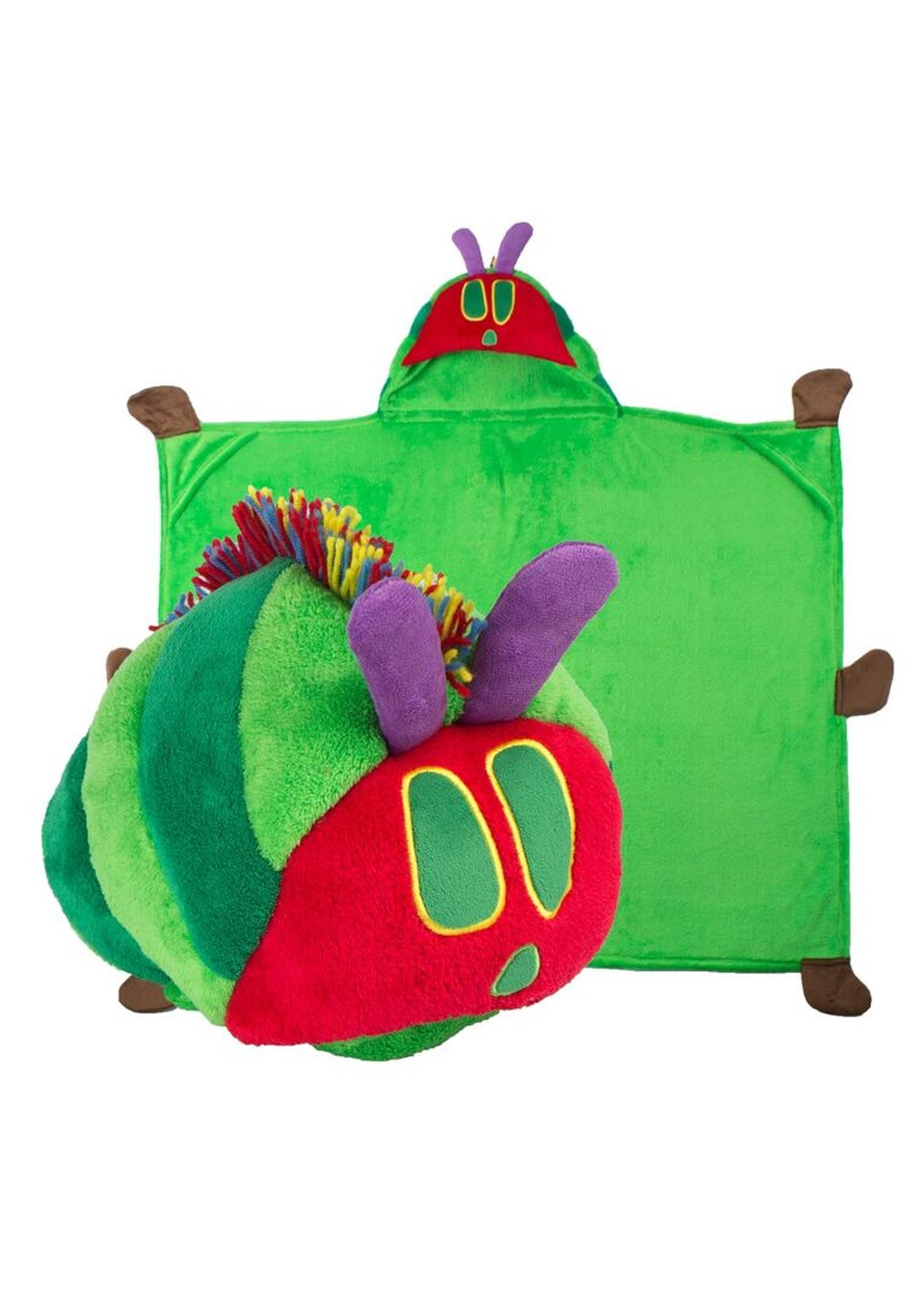 Eric Carle the Very Hungry Caterpillar Comfy Critter Blanket Costume