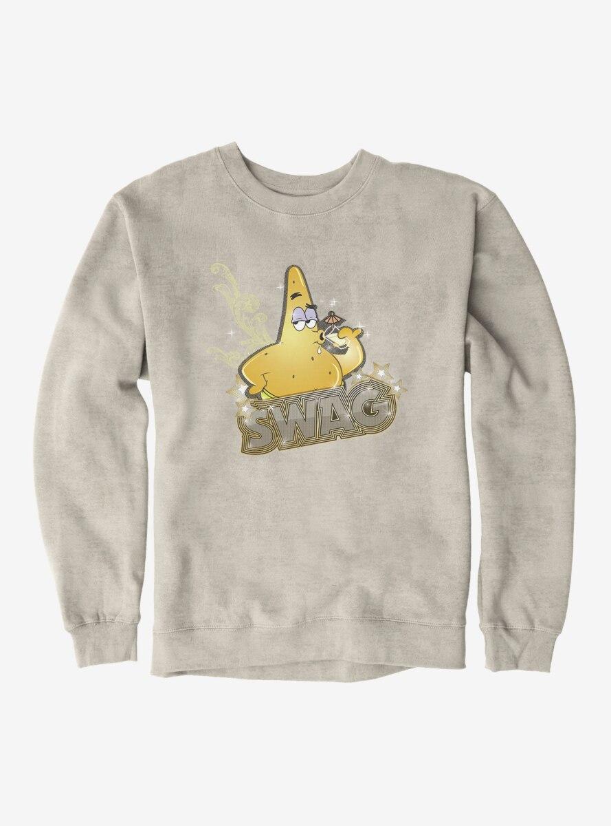SpongeBob SquarePants Patrick Gold Swag Sweatshirt