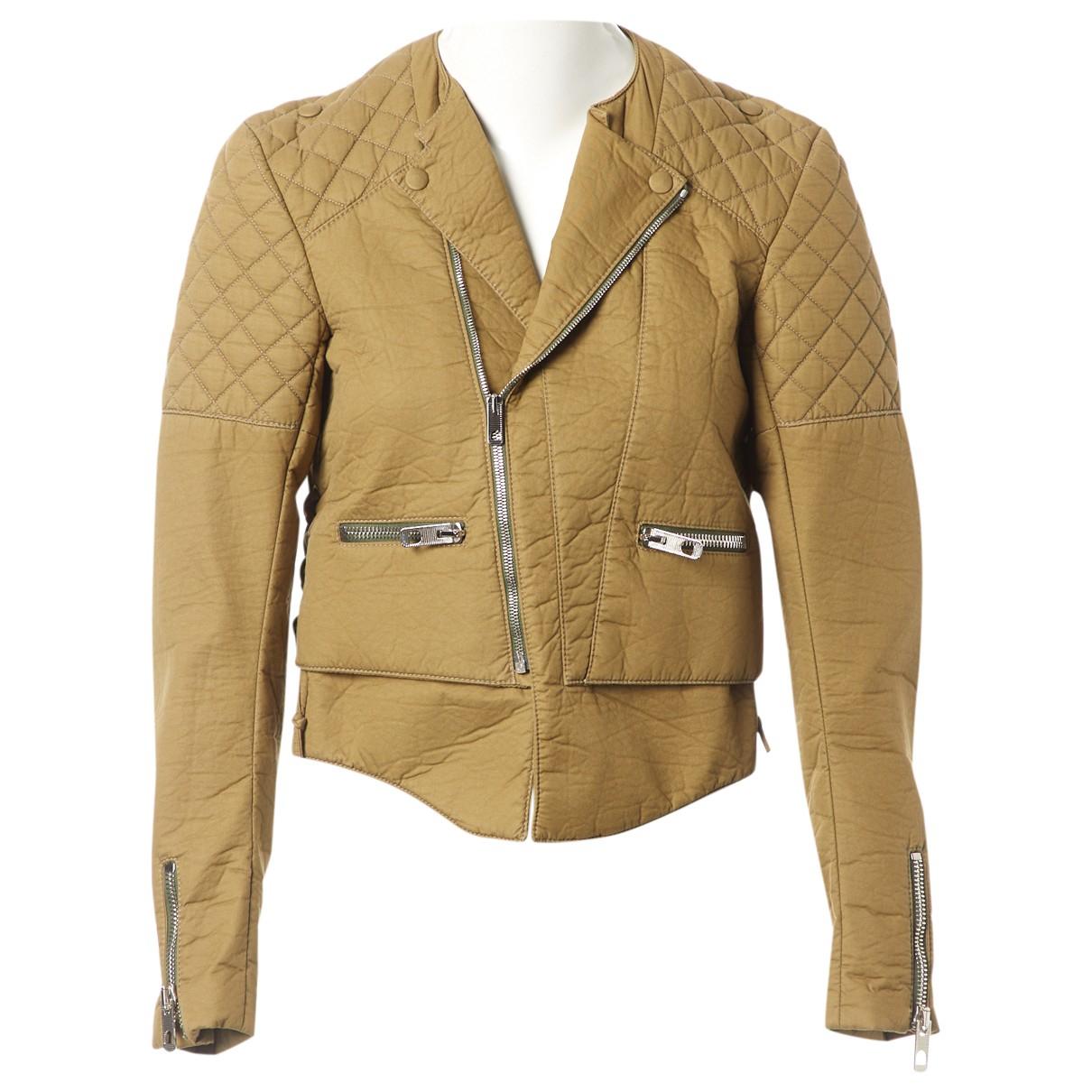 Balenciaga \N Khaki Cotton jacket for Women 36 FR