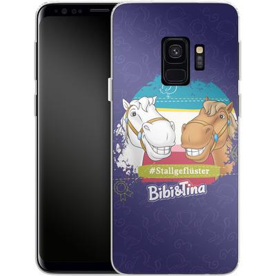 Samsung Galaxy S9 Silikon Handyhuelle - Bibi und Tina Stallgefluester von Bibi & Tina
