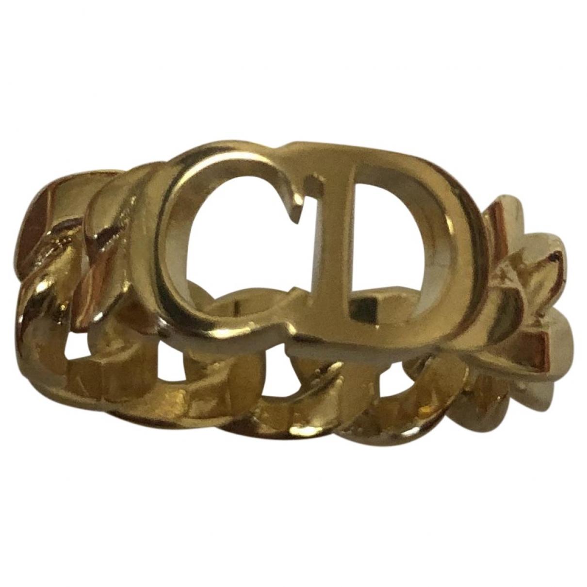 Christian Dior - Bague   pour femme en metal - dore