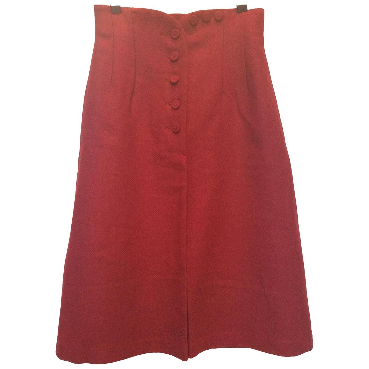 Hoss Intropia \N Rocke in  Rot Wolle