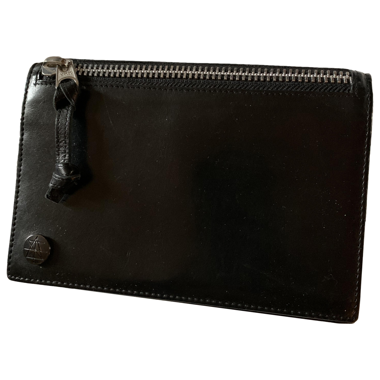 Surface To Air \N Black Leather Purses, wallet & cases for Women \N