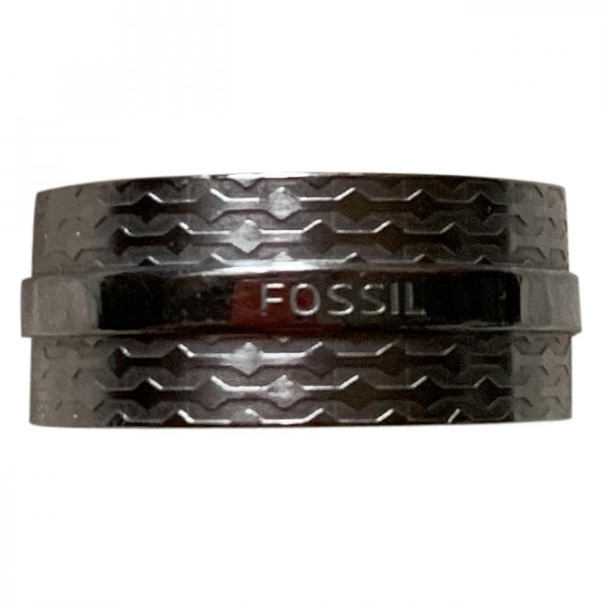 Fossil \N Schmuckstuecke in  Silber Stahl