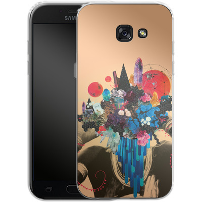 Samsung Galaxy A5 (2017) Silikon Handyhuelle - Shadows Took Shape von Victoria Topping
