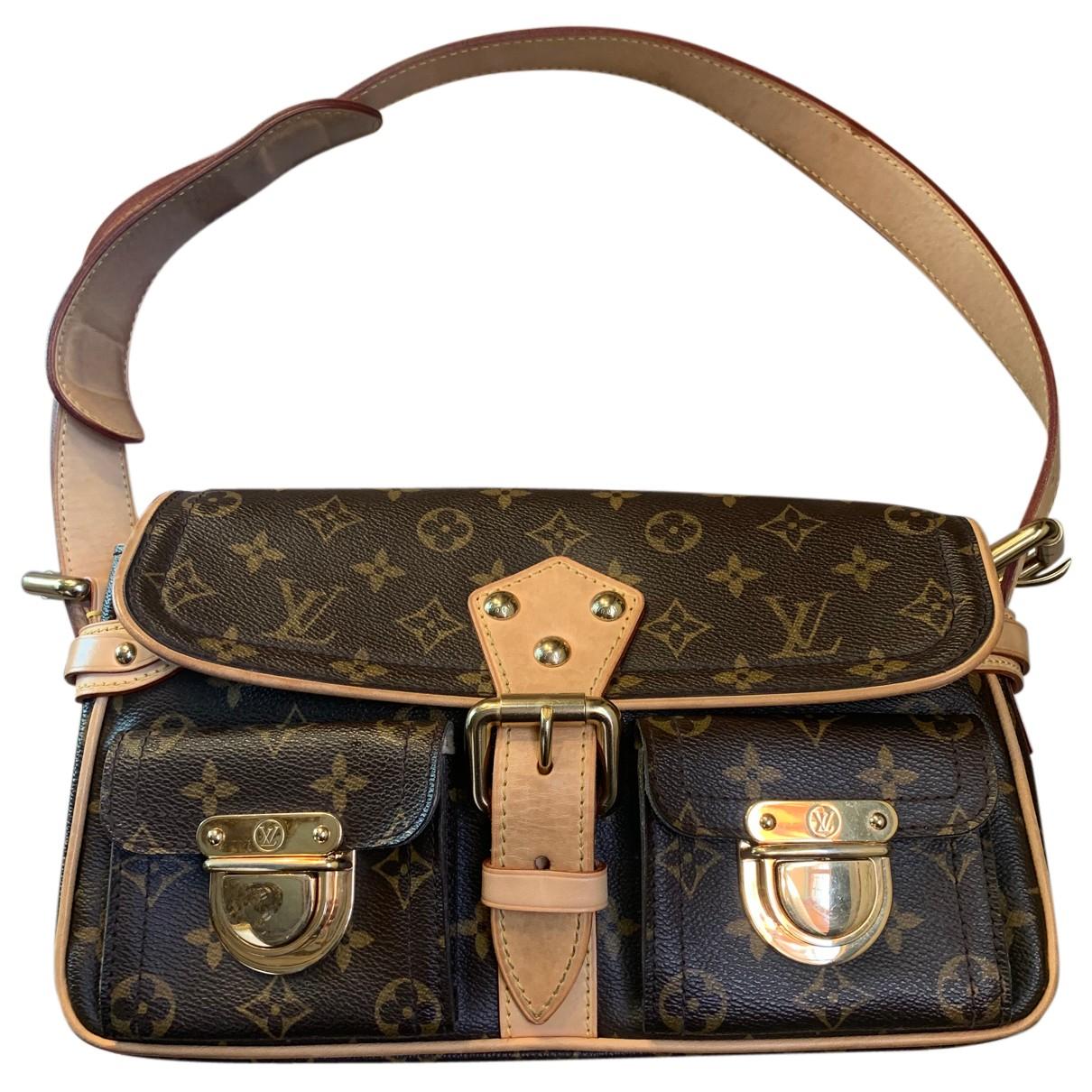 Louis Vuitton Hudson Brown Cloth handbag for Women N