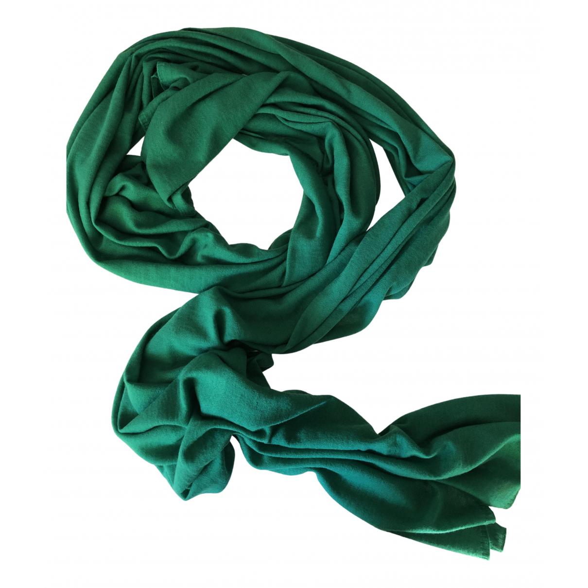 Stefanel \N Green Cashmere scarf for Women \N