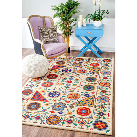 nuLoom Hand Tufted Deonna Rug, One Size , Multiple Colors