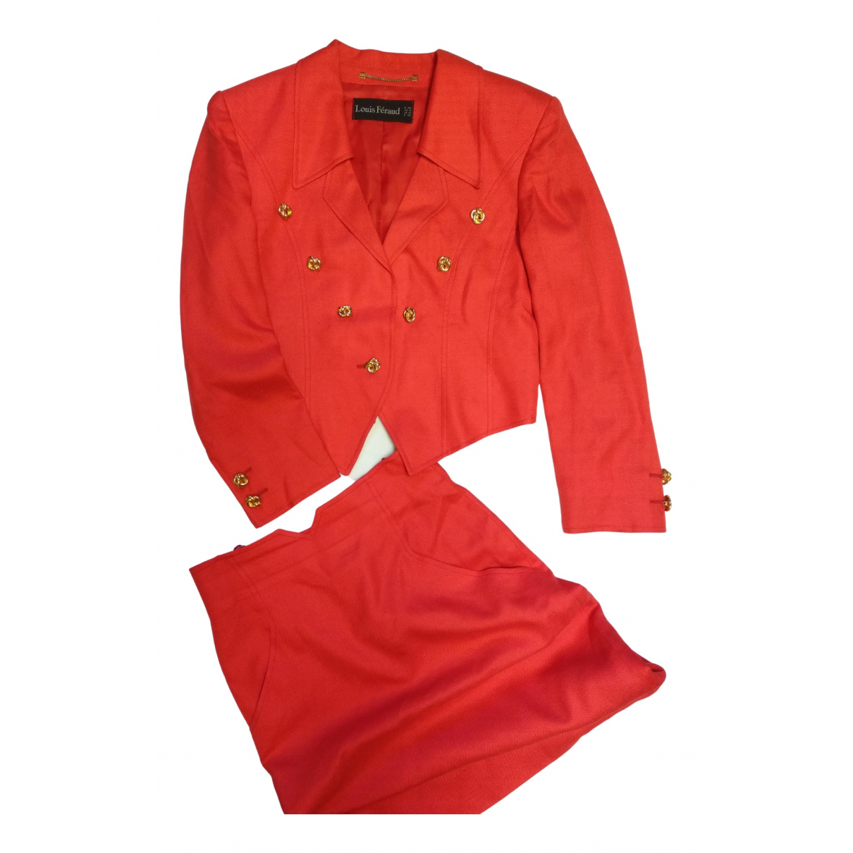 Louis Feraud N Red jacket for Women 40 FR