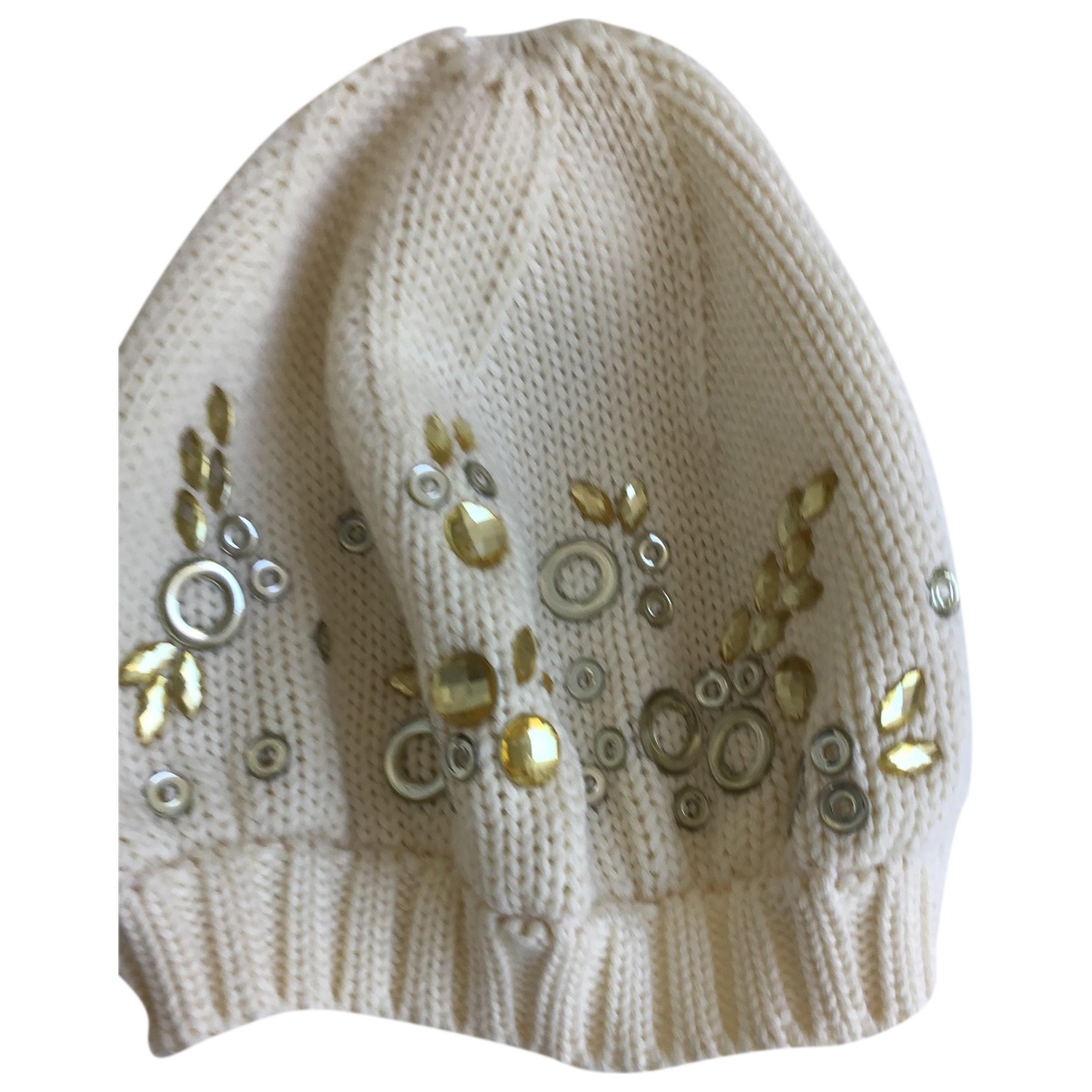 Non Signé / Unsigned \N White Wool hat for Women L International