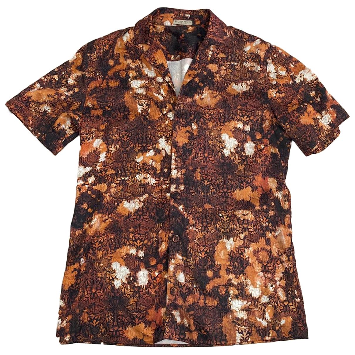 Bottega Veneta - Chemises   pour homme en soie - multicolore