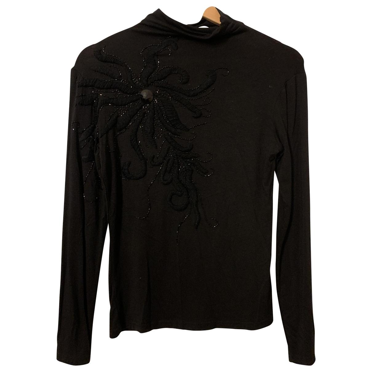 Miu Miu \N Pullover in  Schwarz Baumwolle