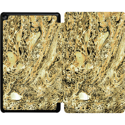 Amazon Fire HD 8 (2017) Tablet Smart Case - Marbled Sand von Amy Sia