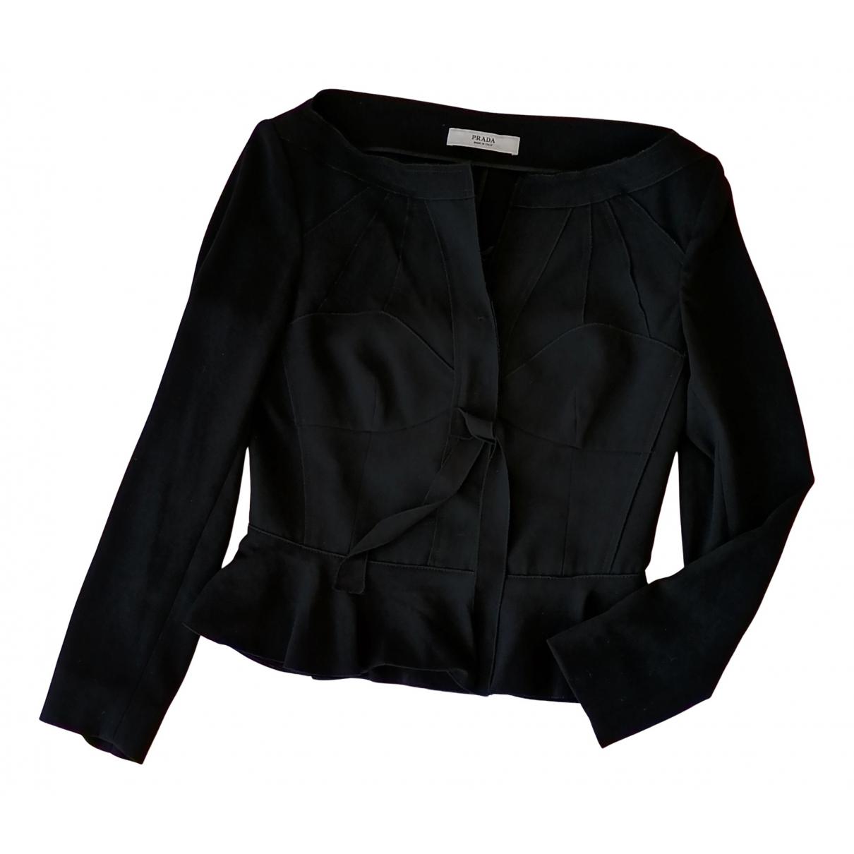 Prada - Veste   pour femme - noir