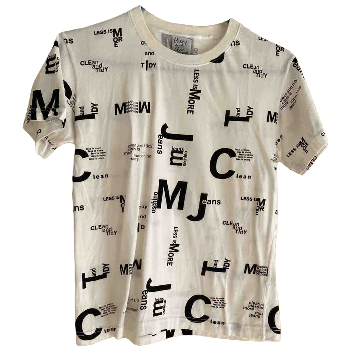Moschino Cheap And Chic - Top   pour femme en coton - blanc