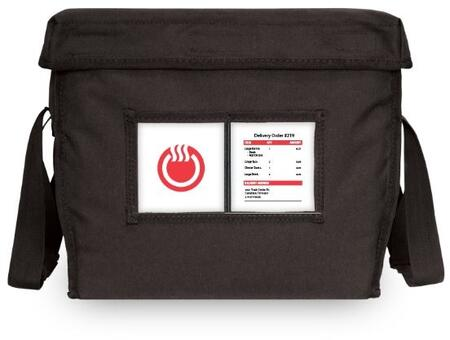 ThermaCube Large Thermal Delivery Bag with Adjustable Carrying Straps and Removable Velcro
