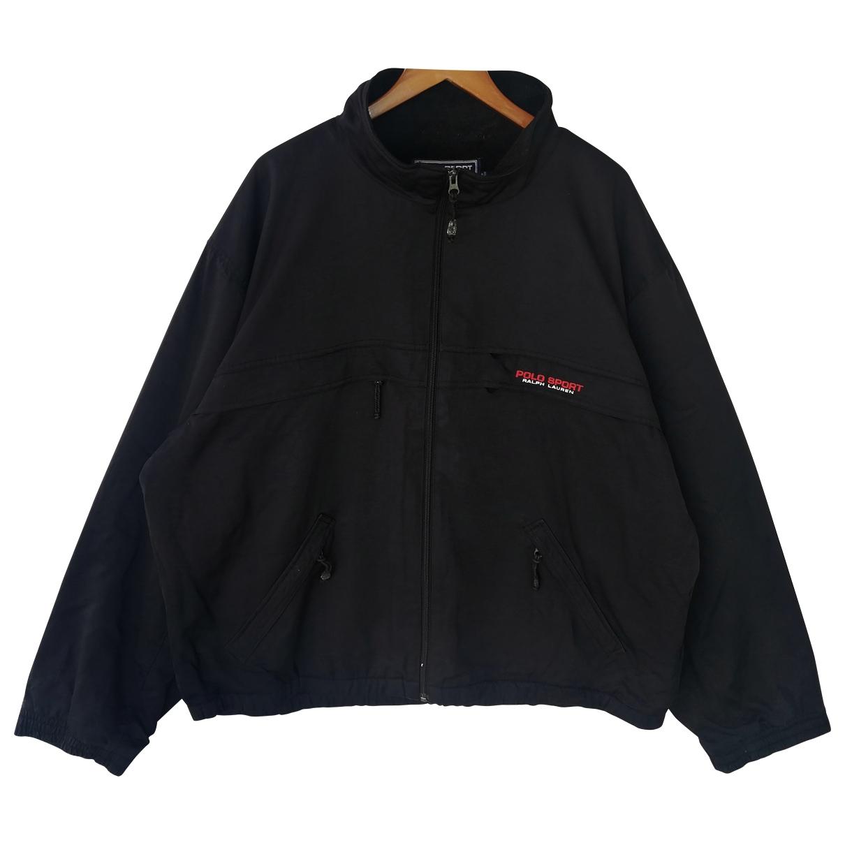 Polo Ralph Lauren \N Jacke in  Schwarz Polyester