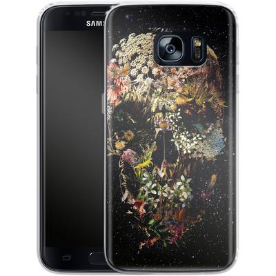 Samsung Galaxy S7 Silikon Handyhuelle - Smyrna Skull von Ali Gulec