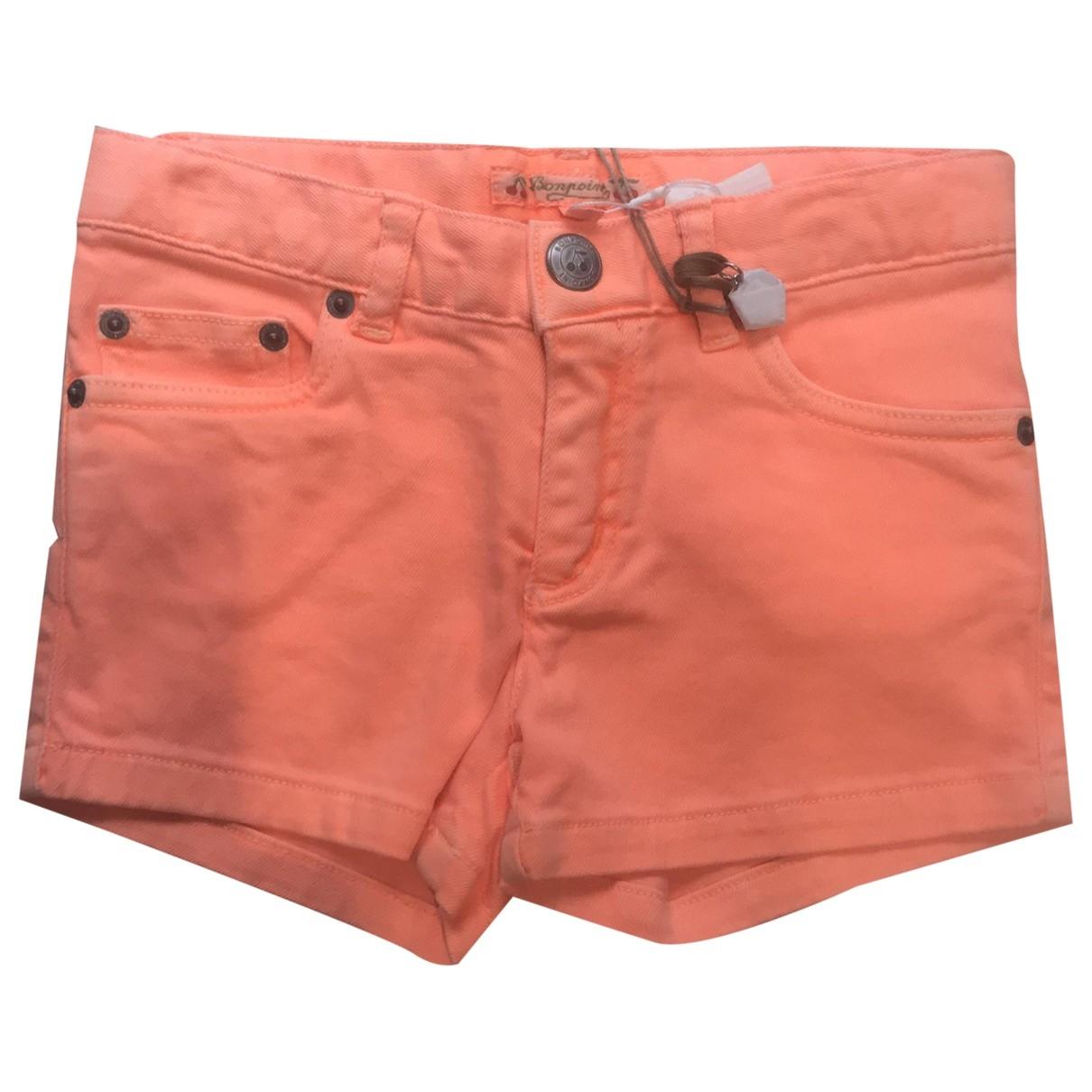 Bonpoint \N Shorts in  Orange Denim - Jeans