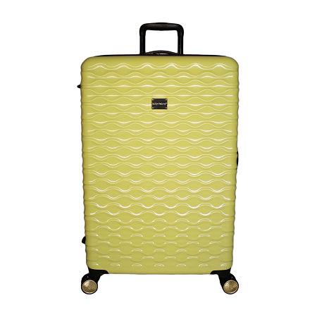 Kathy Ireland Maisy 28 Inch Hardside Lightweight Luggage, One Size , Yellow