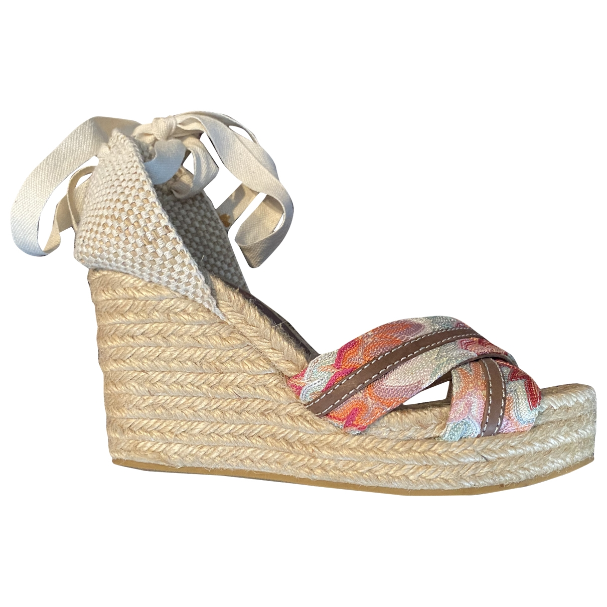 Missoni \N Pink Tweed Heels for Women 38 EU