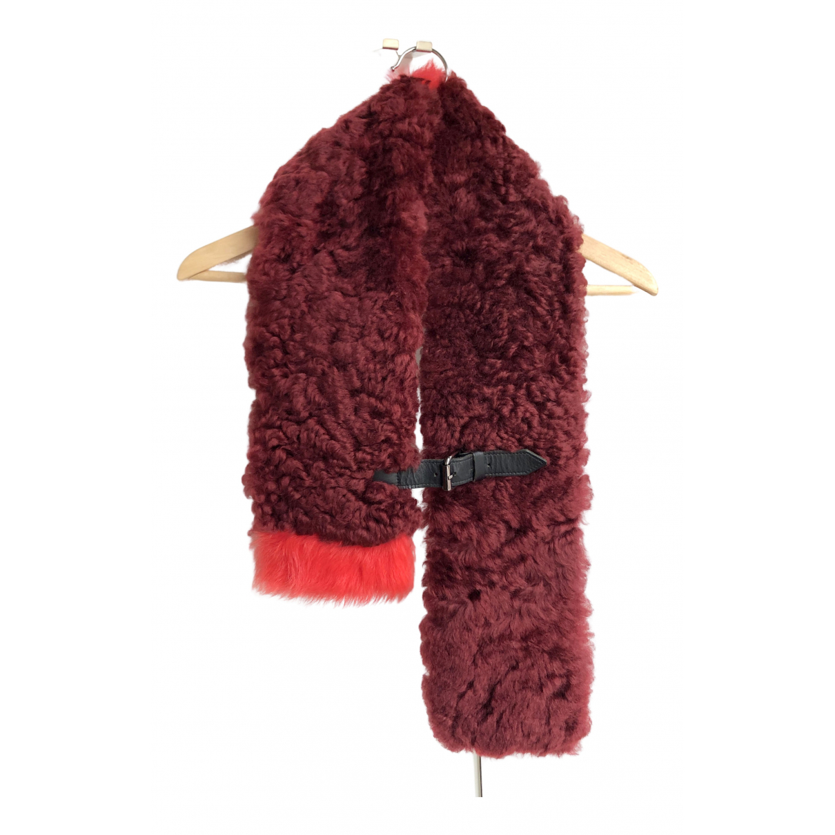 Finery N Burgundy Wool scarf for Women N