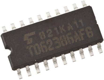 Toshiba TC74AC273F(F) Octal D Type Flip Flop IC, 20-Pin SOP (5)