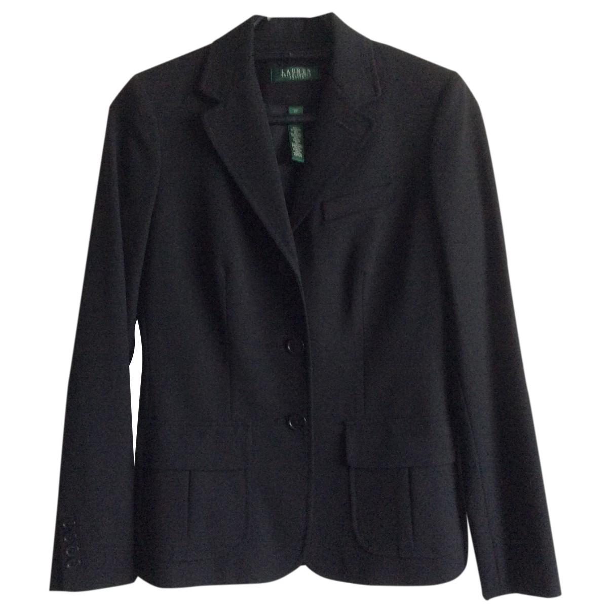 Lauren Ralph Lauren N Black Cotton jacket for Women 4 US