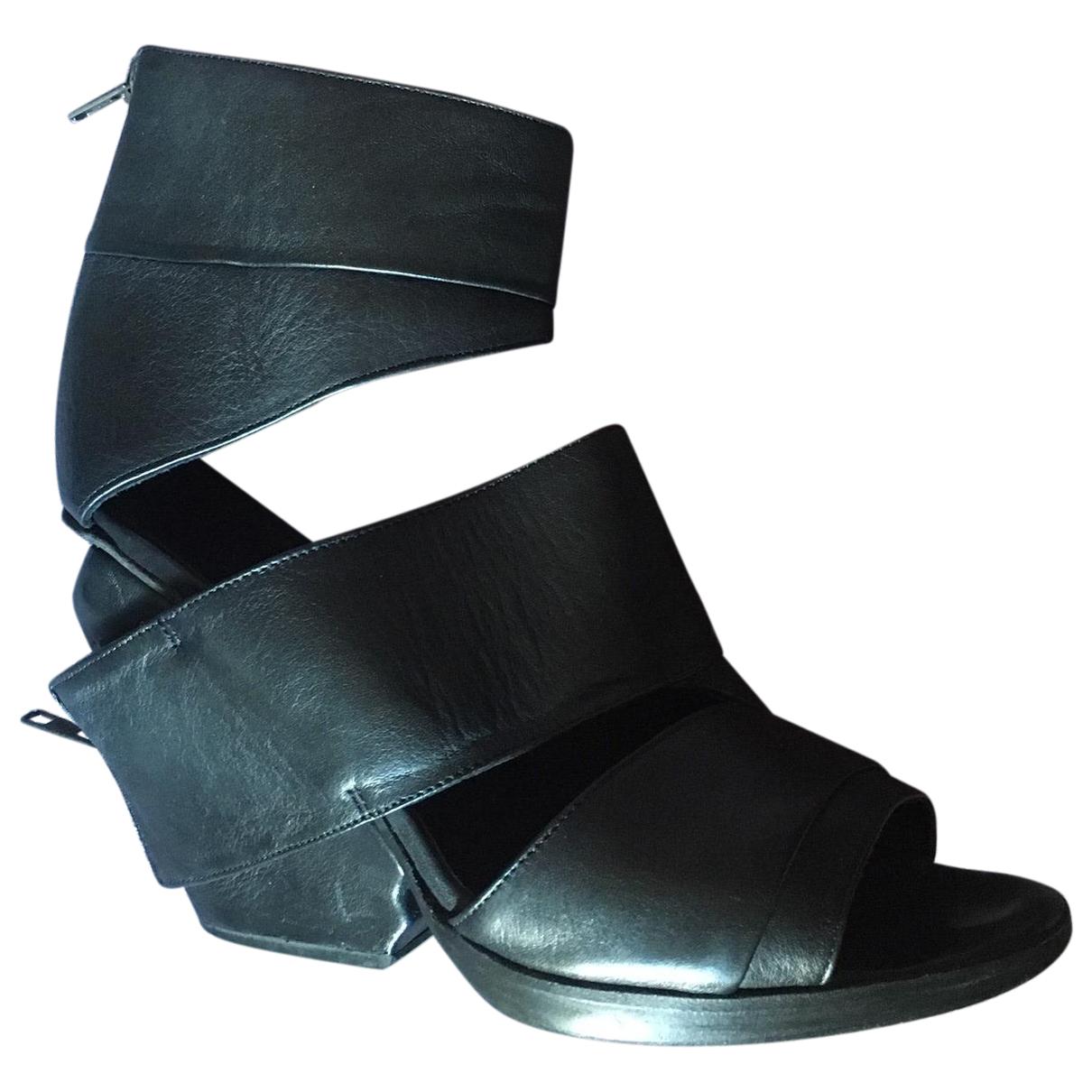 Ld Tuttle \N Sandalen in  Schwarz Leder