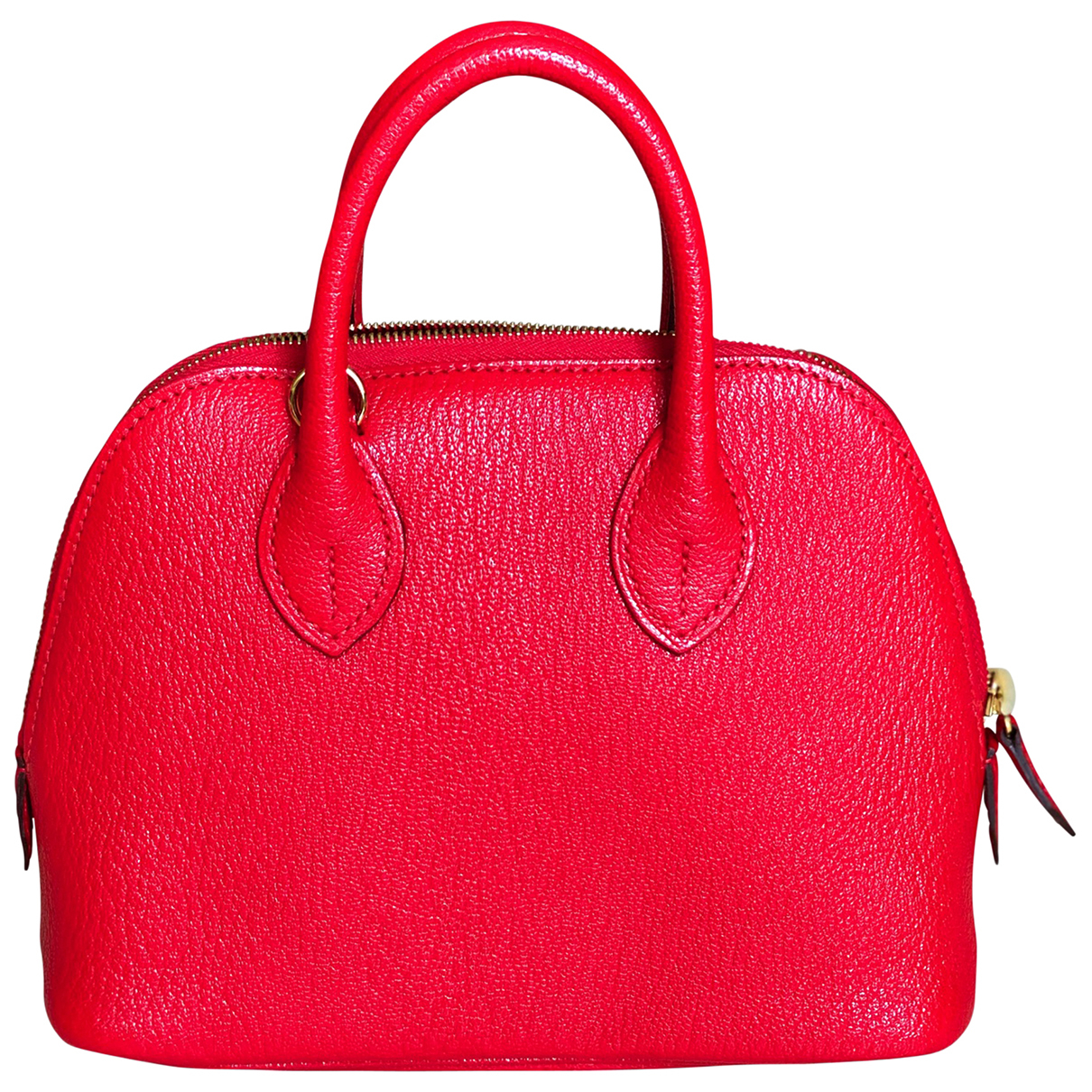 Hermès Bolide Red Leather handbag for Women N