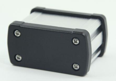 RS PRO Silver Aluminium Enclosure, IP66, 68.7 x 35.2 x 49mm