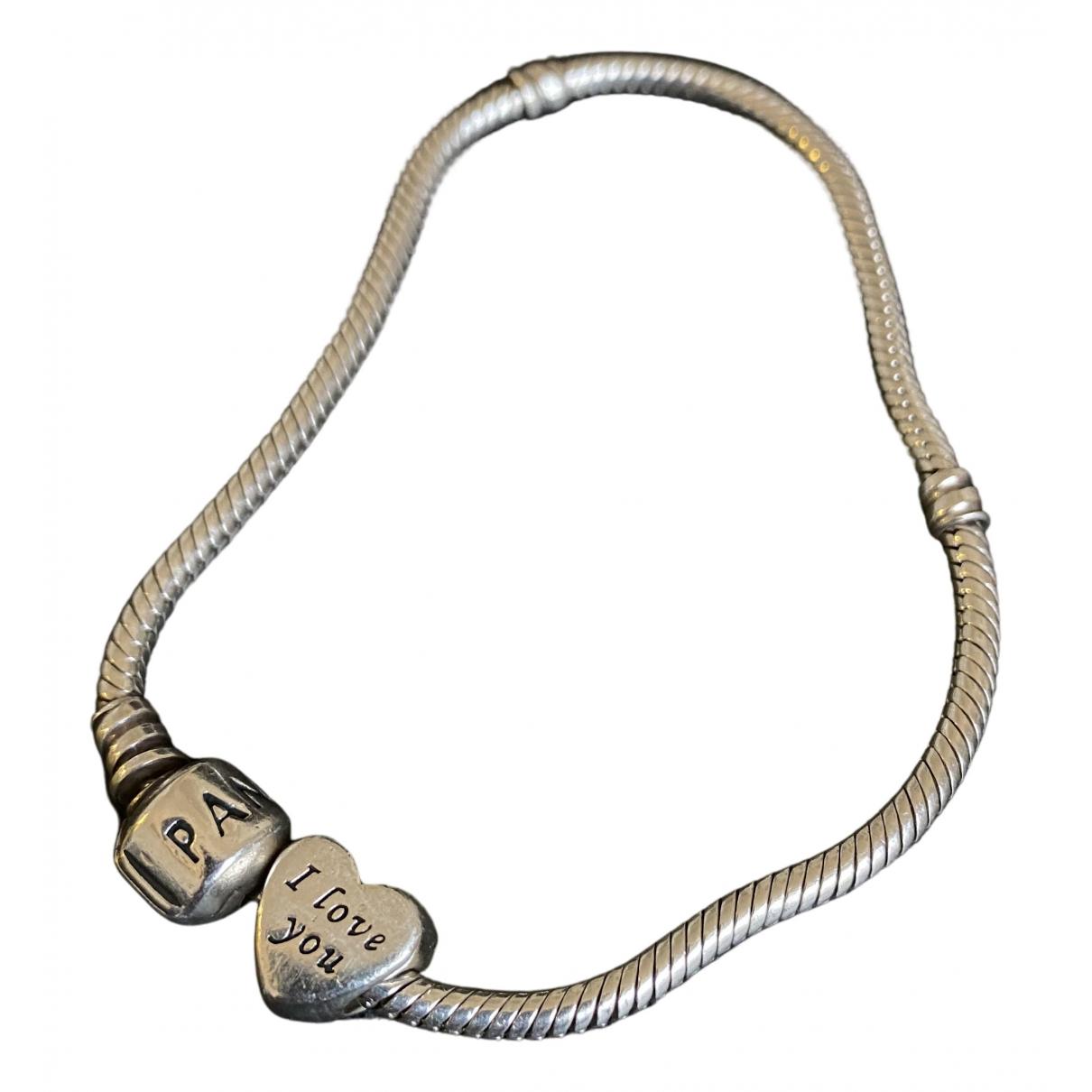 Pandora - Bracelet   pour femme en argent