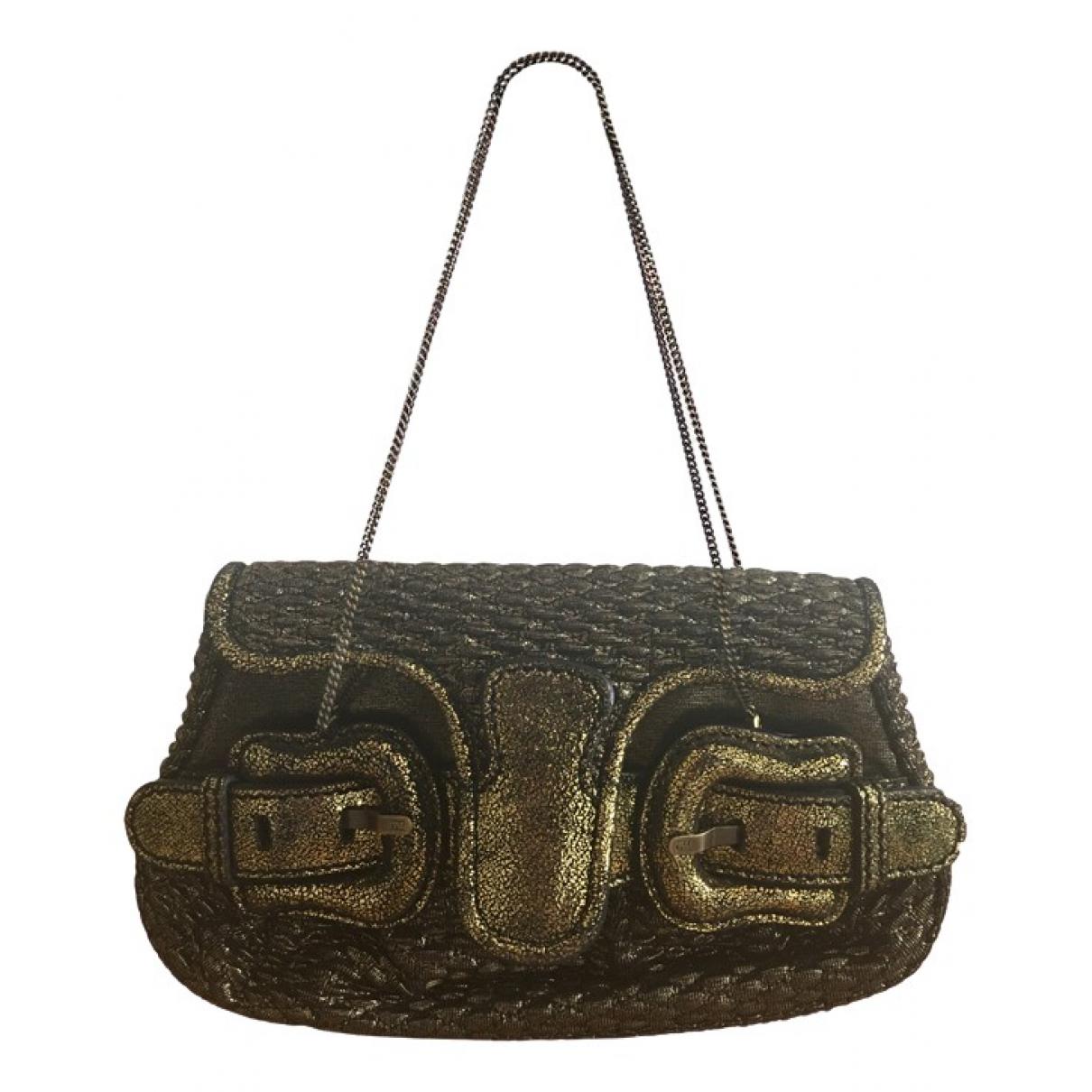 Fendi \N Gold Glitter handbag for Women \N
