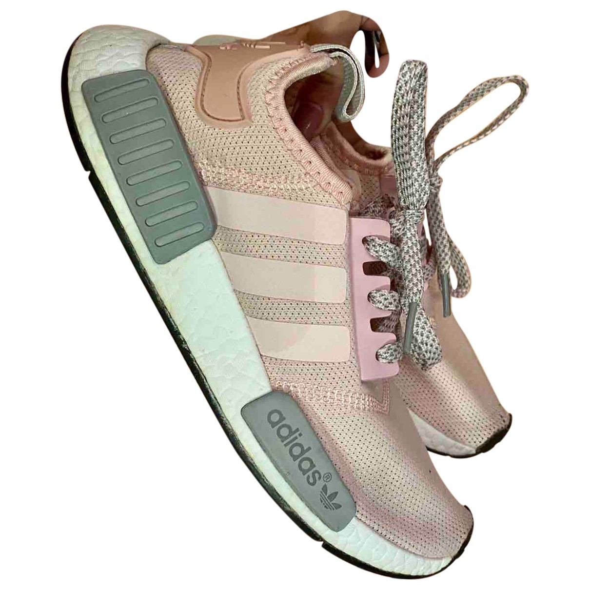 Adidas Nmd Sneakers in  Rosa Leinen