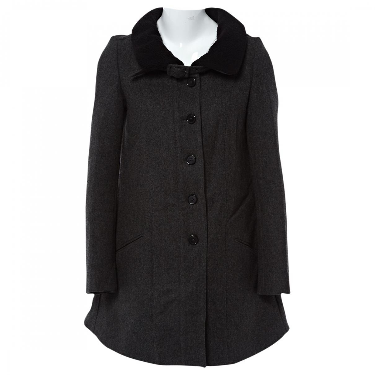 Proenza Schouler \N Anthracite Wool coat for Women 4 US