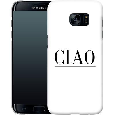 Samsung Galaxy S7 Edge Smartphone Huelle - Just CIAO! von Erik Scholz
