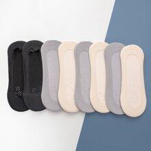 8pairs Solid Socks