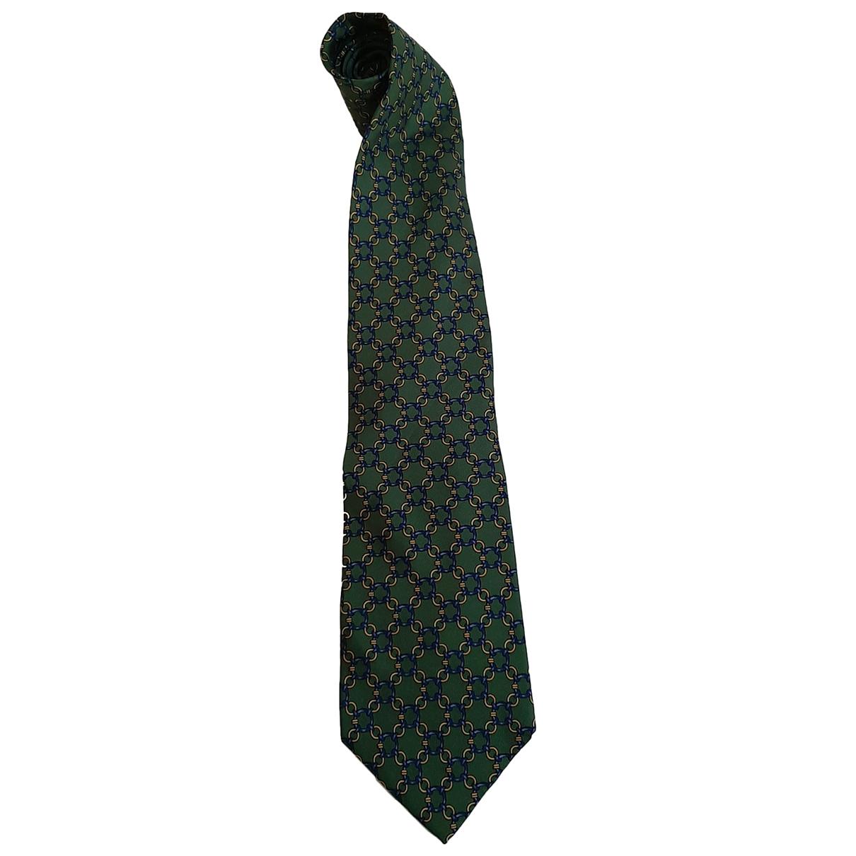 Gucci \N Krawatten in  Gruen Seide